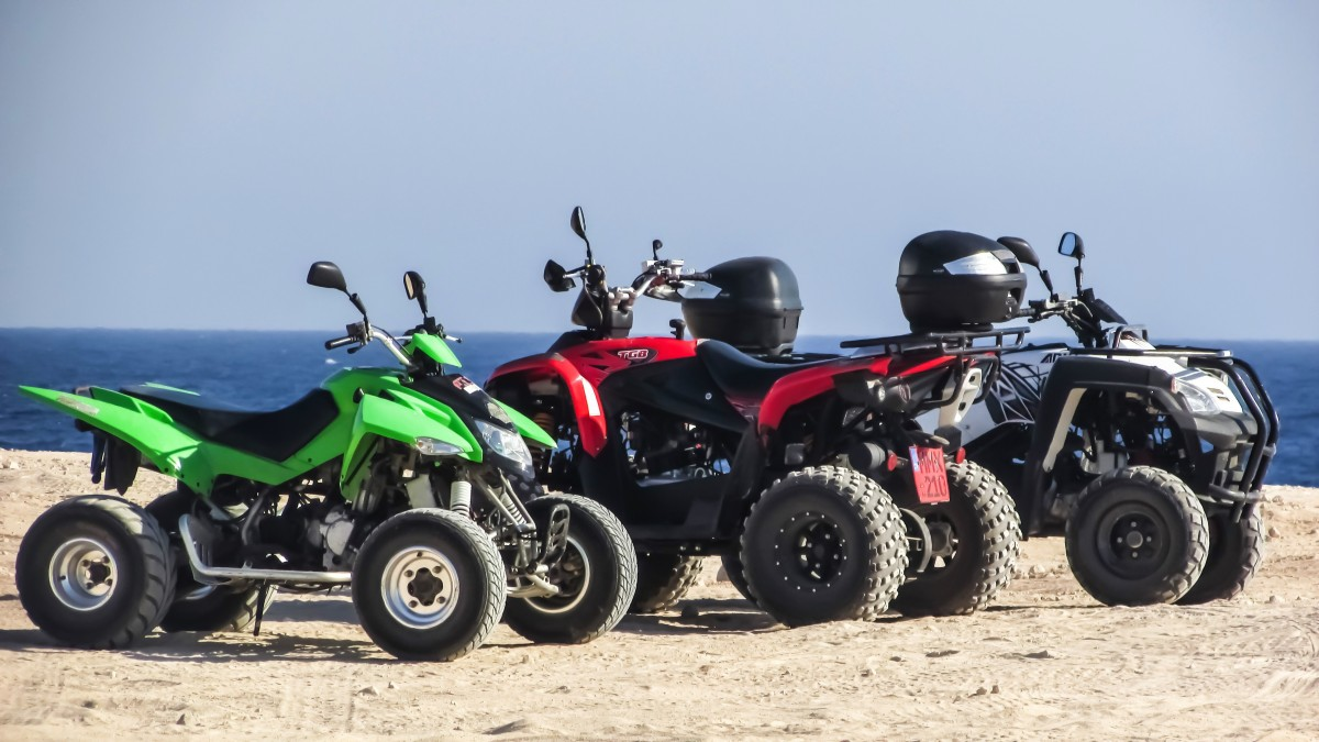 Le quad, un mode de deplacement de plus en plus prise